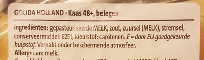 Kaas 48+ belegen - Ingredients - nl