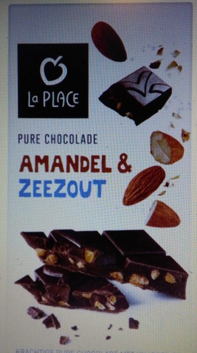 La Place Pure Chocolade Amandel & Zeezout 180g - Product - nl