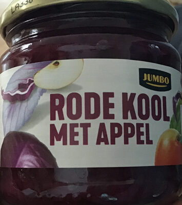 Rode kool met appel - Product
