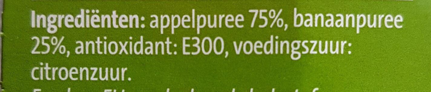 Knijpfruit - Ingrediënten - nl