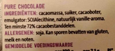 Jumbo krachtige puur extra - Ingrediënten - nl