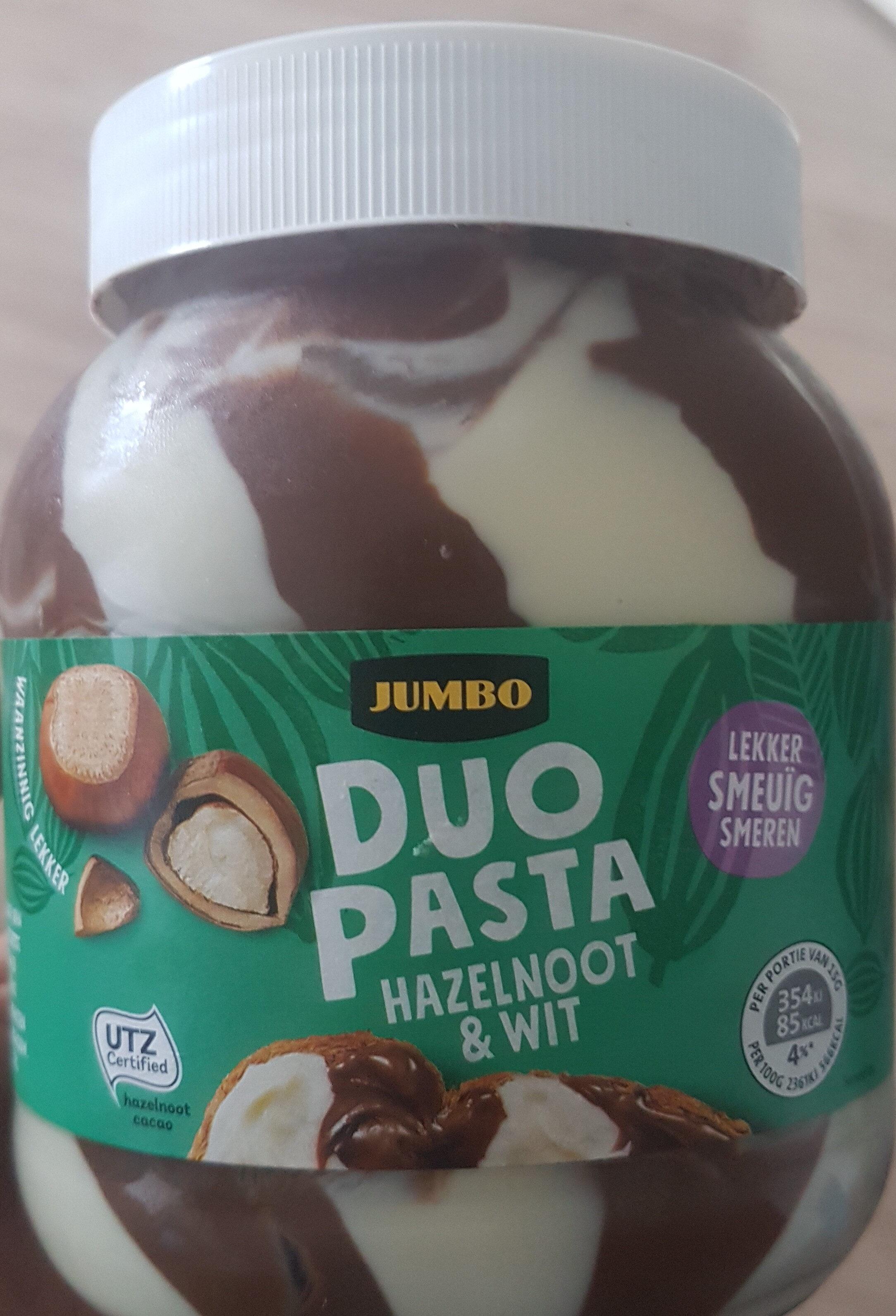jumbo duo pasta hazelnoot & wit - Product - nl