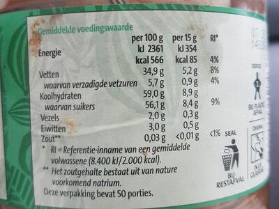 jumbo duo pasta hazelnoot & wit - Nutrition facts - nl