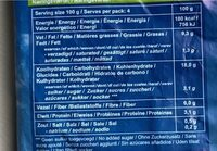 Veggiefries - Voedingswaarden - fr