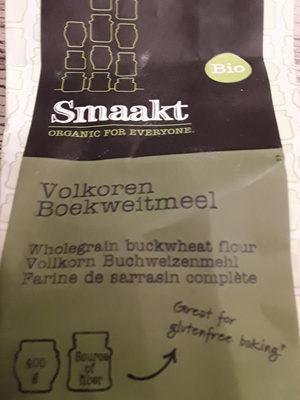 Wholegrain buckwheat fluor Bio - Product - nl