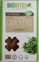 Lijnzaad Crackers Zeewier - Produkt