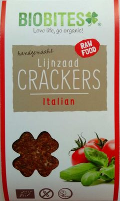 Lijnzaad Crackers Italian - Produkt
