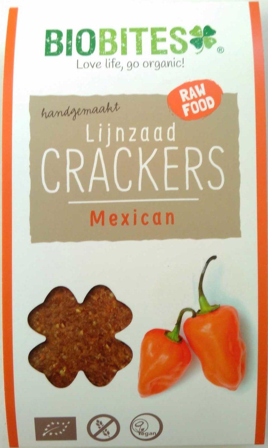 Lijnzaad Crackers Mexican - Product