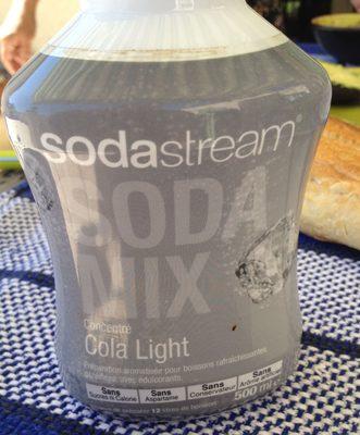 Soda Mix Cola Light - Produit - fr