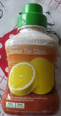 Concentré saveur thé citron - Produit - fr