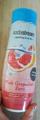 Pink grapefruit zero - Produit - fr