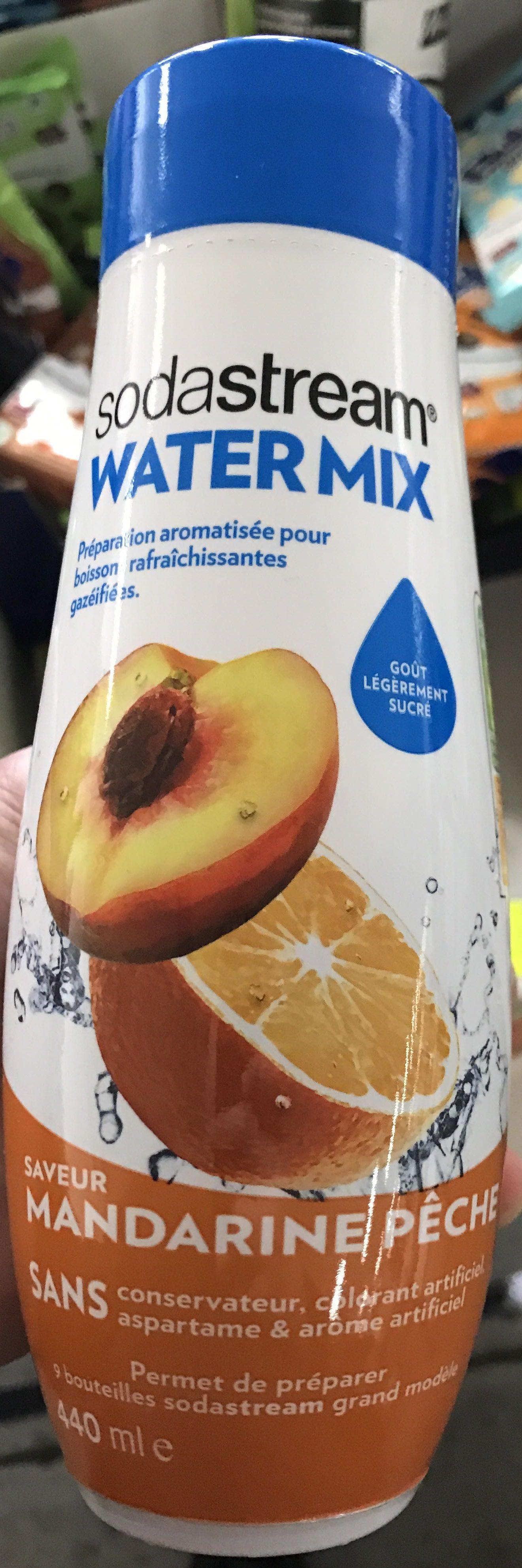 Water Mix saveur Mandarine Pêche - Produit - fr