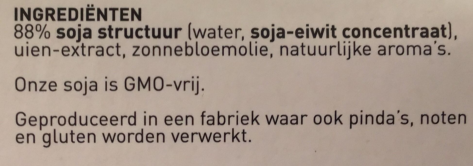 Vegetarische Kipstuckjes - Ingrédients - nl