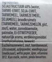 auf wieder schnitzel - Ingredients - nl