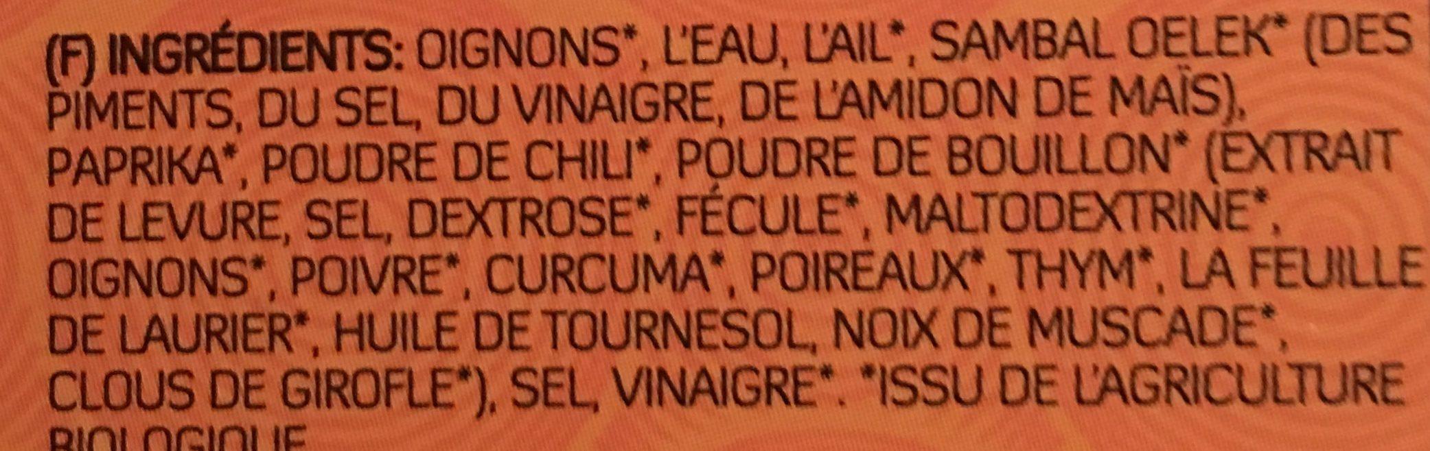 Yakso Bumbu Nasi Bami Goreng - Ingredients - fr