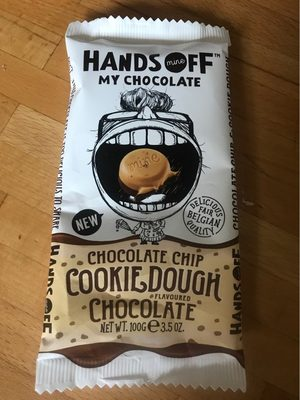 Chocolate chip cookie dough, chocolate - Produit - fr