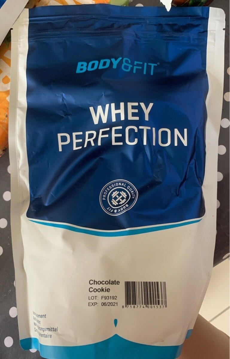 Whey Perfection Chocolate cookie flavor - Produit - fr