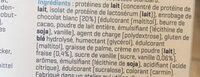 Smart bar - Ingrédients - fr