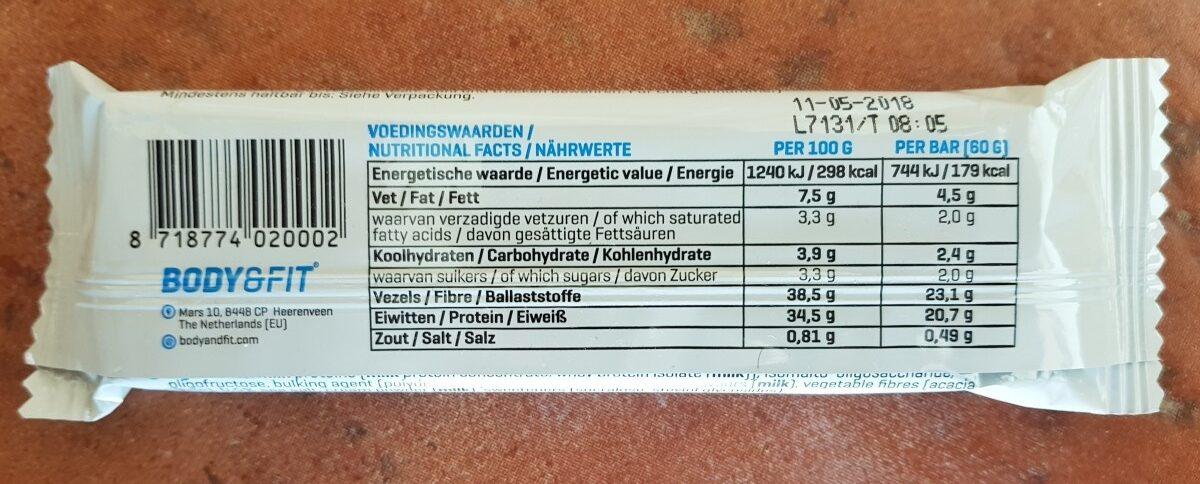 Clean Protein Bar, Salted Caramel - Ingrédients - fr