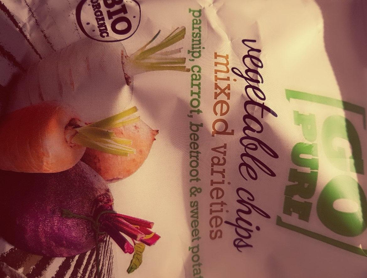 Chips Di Verdure Bio Go Pure - Product - fr