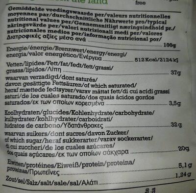 Vegetable Chips Mixed Varieties - Voedingswaarden - de