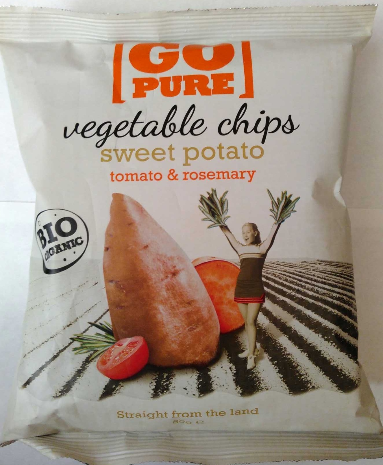 Vegetable Chips Sweet Potatoe, tomato & rosemary - Produkt