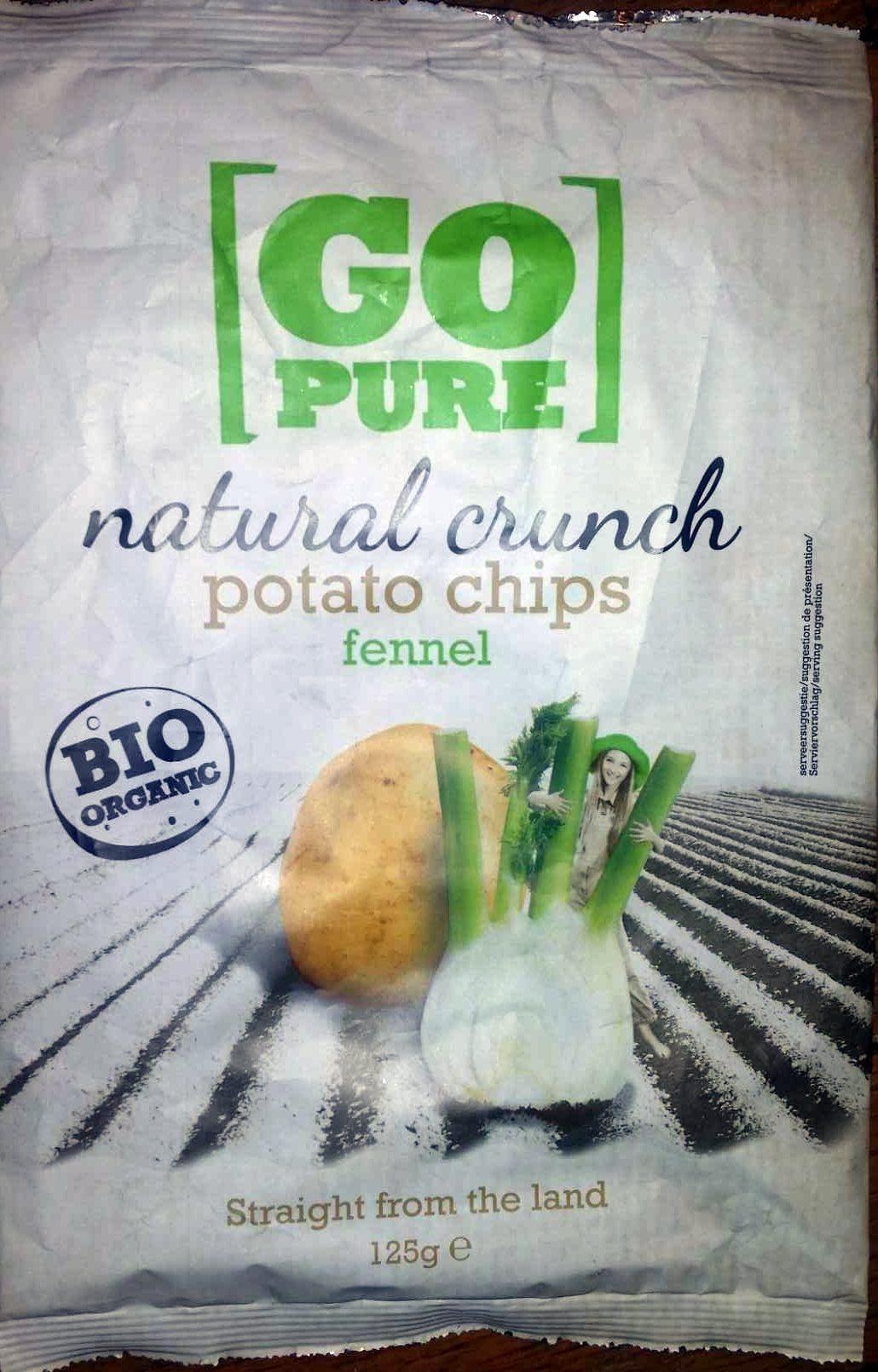 Chips de pomme de terre au fenouil - Produit - fr