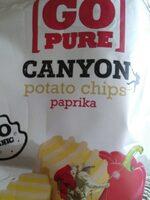 Canyon chips paprika - Produit - fr