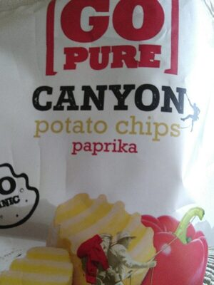 Canyon chips paprika - Produit