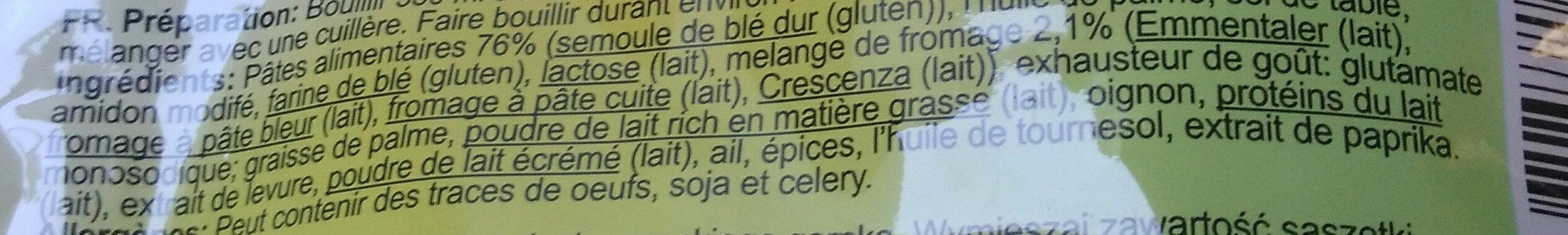 Culiquick - Ingredients - fr