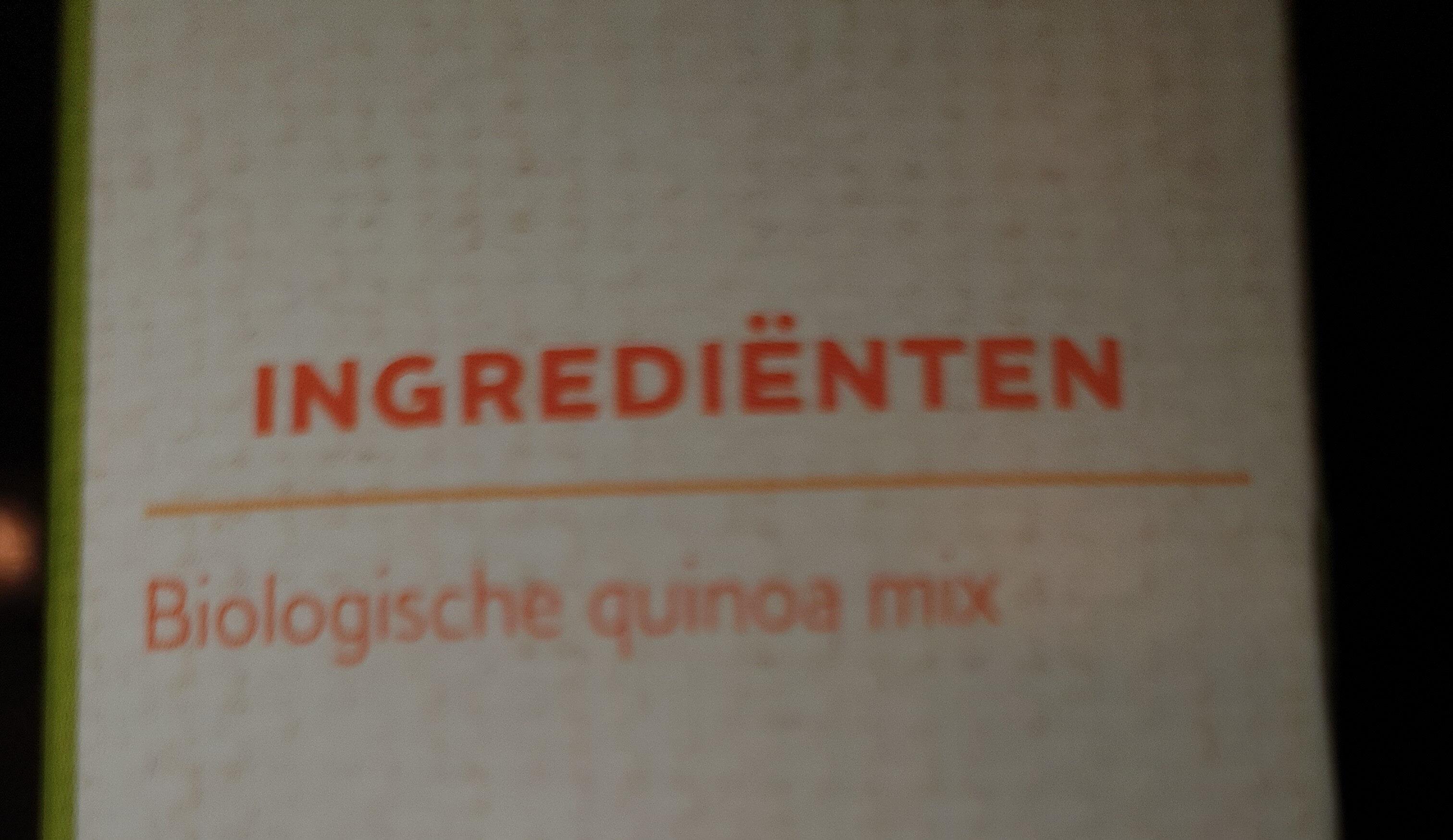 quinoa mux - Ingredients - nl