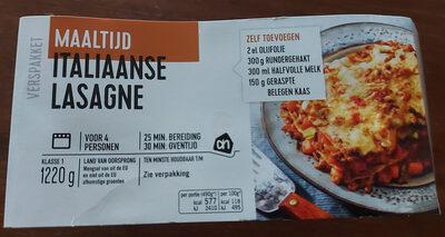 Italiaanse lasagne verspakket - Product - nl