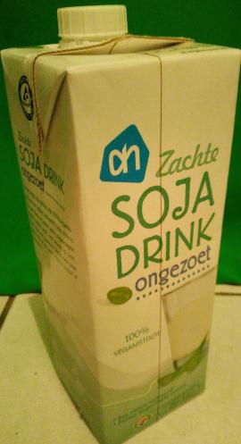 AH Soja drink ongezoet - Product - en