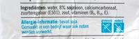 AH Soja drink ongezoet - Ingredients - en