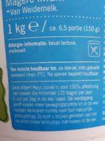 Magere Franse kwark - Ingredienti - nl