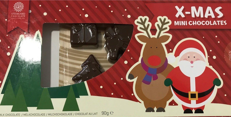 X-Mas Mini Chocolates - Produit - fr
