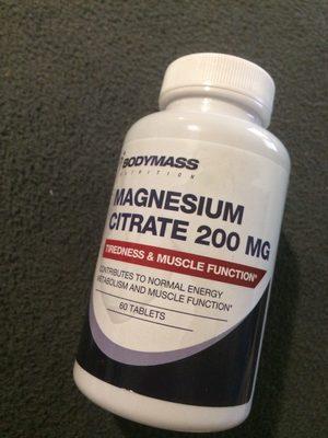 Magnesium citrate 200 mg - Produit - fr