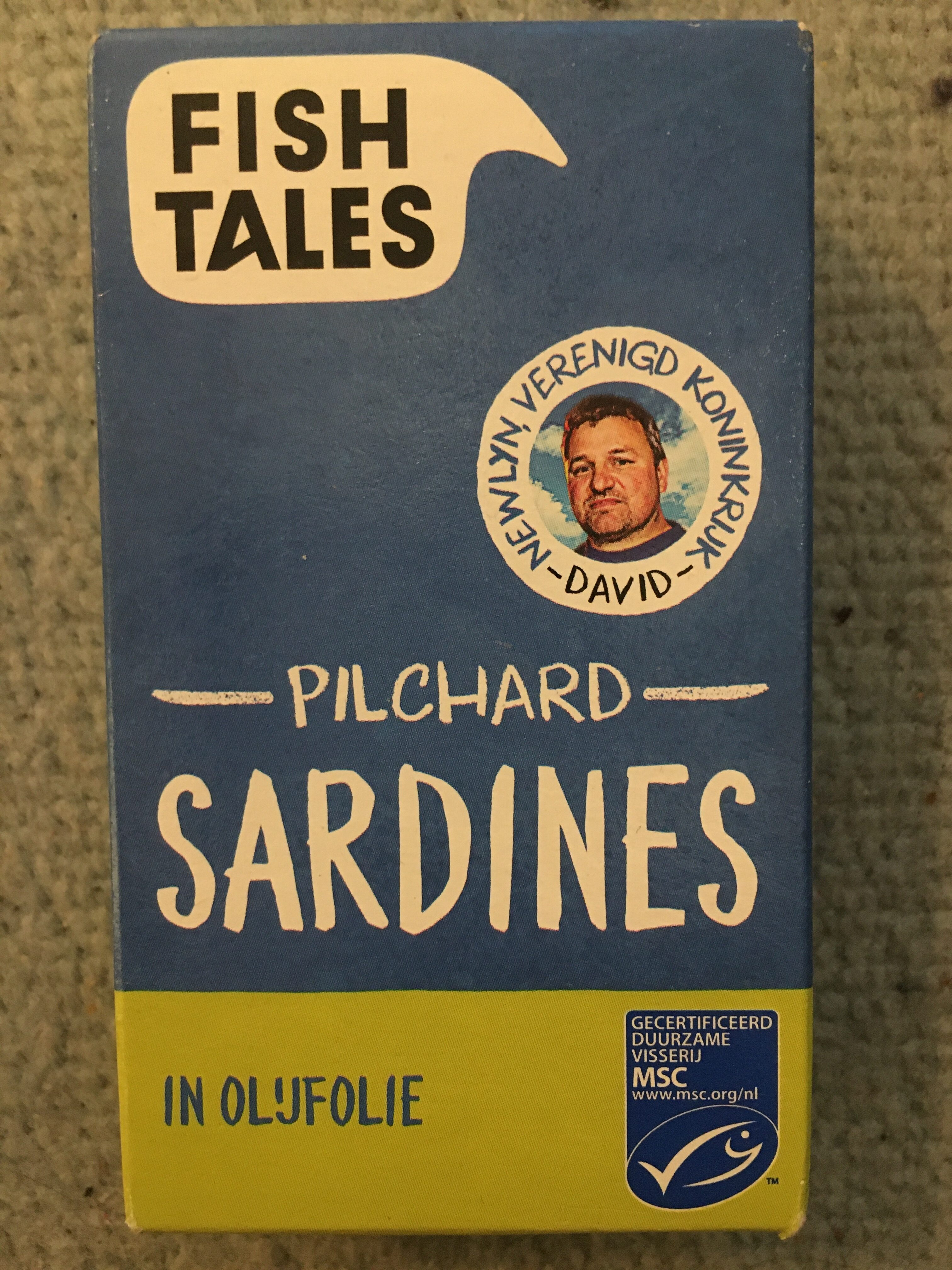 Pilchaed Sardines in Olijfolie - Product - nl