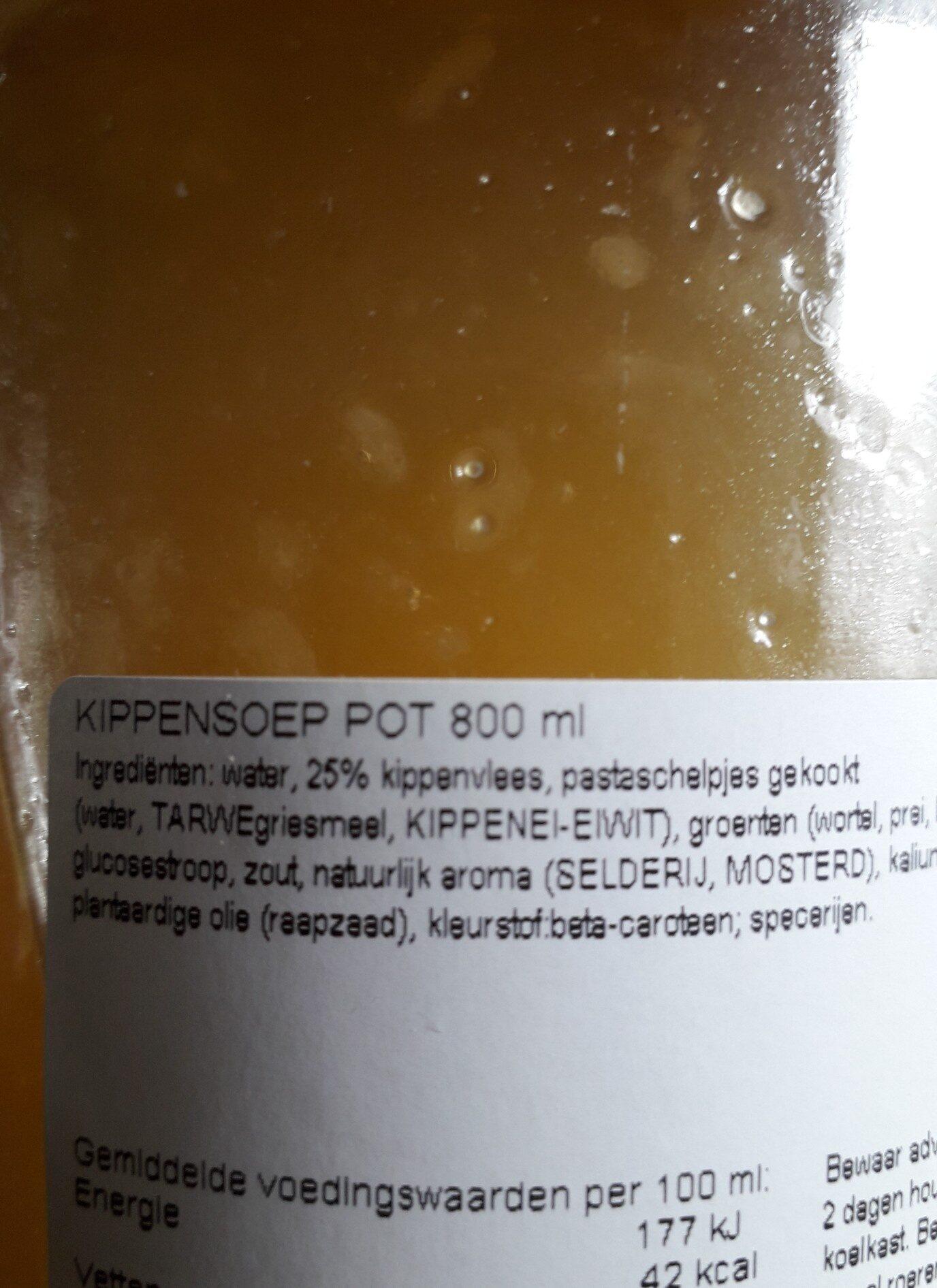 moeke's kippensoep - Ingredients - en