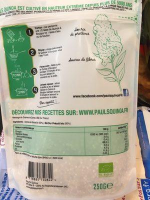 Quinoa & Boulgour - Ingrediënten