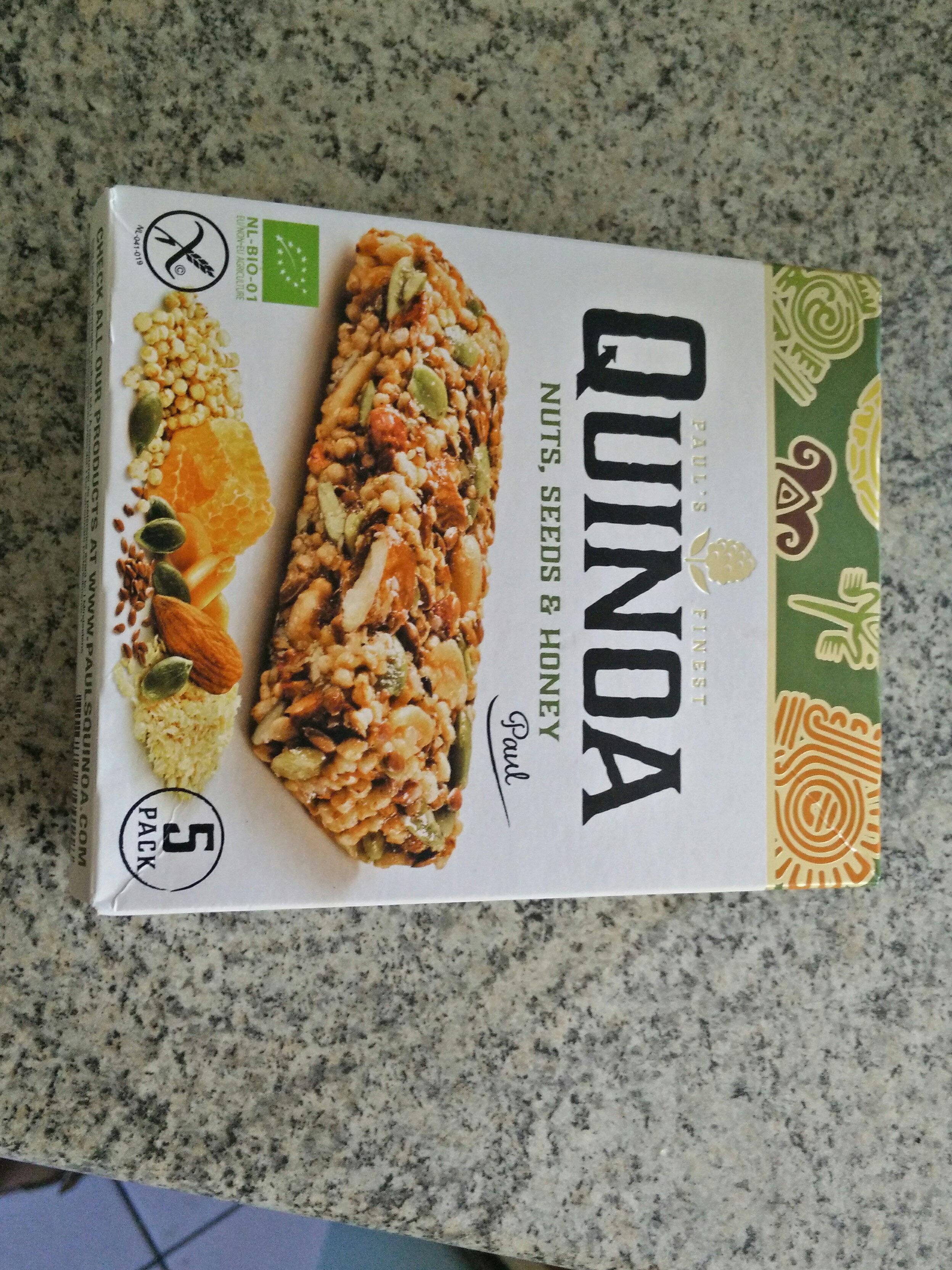 Quinoa - Nuts, seeds & honey - Product