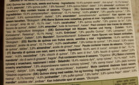 Quinoa - Nuts, seeds & honey - Ingredients