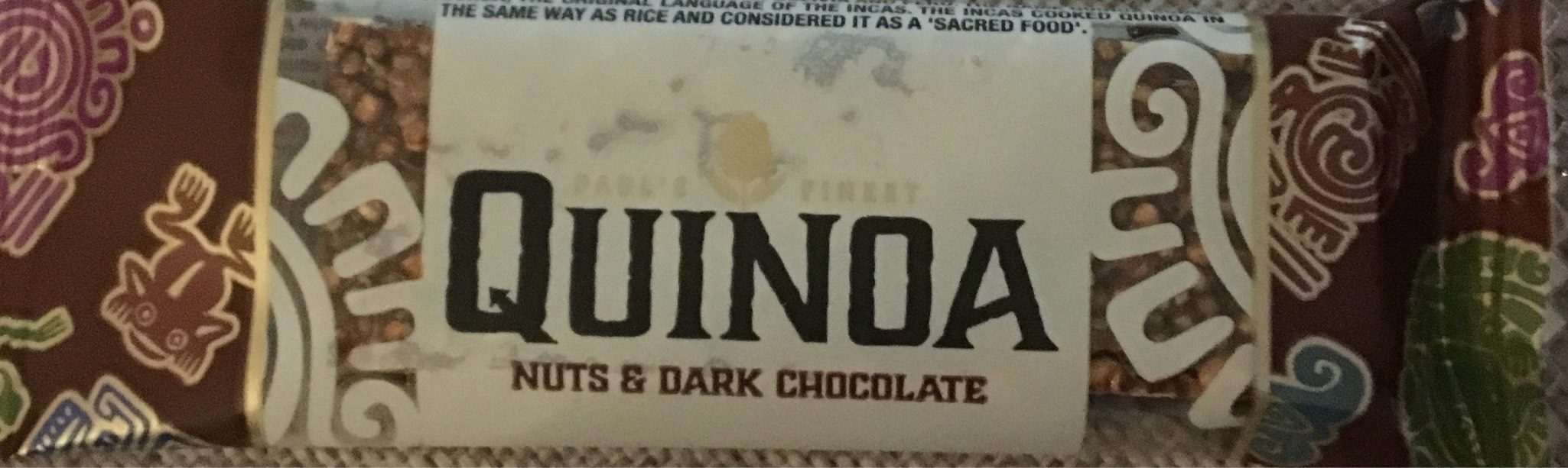 Quinoa Nuts and Dark Chocolate - Product