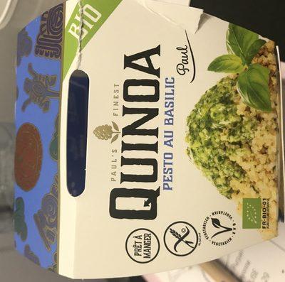 Quinoa Cuit Et Sauce Pesto Au Basilic Biologique - Ingredients