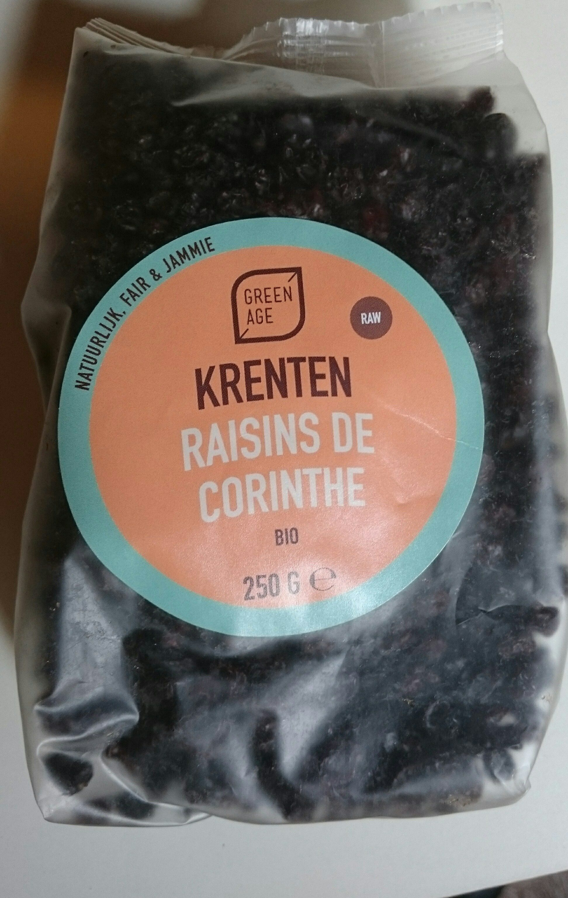 Raisins de Corinthe - Product - fr