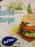 SoFish Burger - Product - fr
