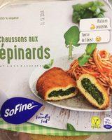 Chaussons aux épinards - Produit