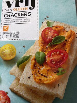 Vrij van gluten crackers - Product