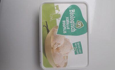 organic vanilla ice cream - Product - nl