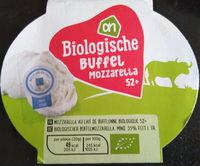 Biologische Buffelmozzarella 52+ - Product - nl